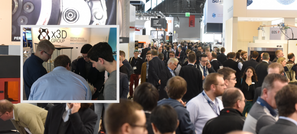 Disruptive Additive Manufacturing x3D Group takes larger room at FormNext 2016