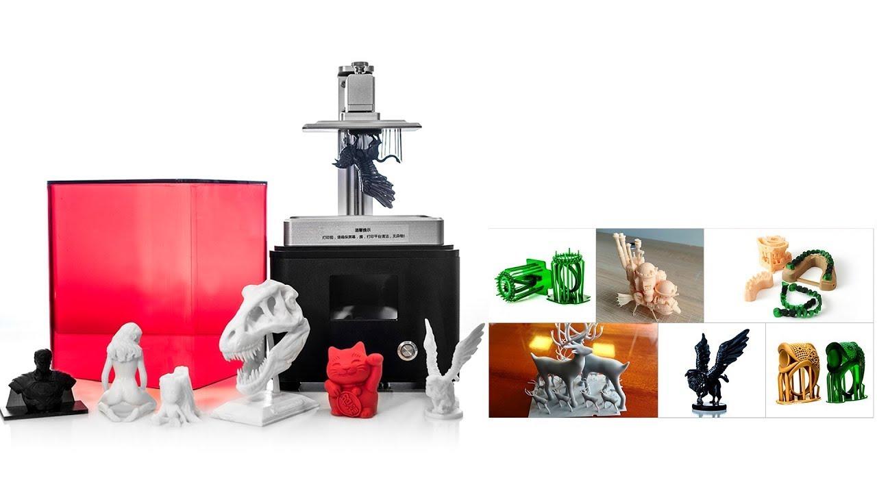 Desktop DLP 3D Printer I Models