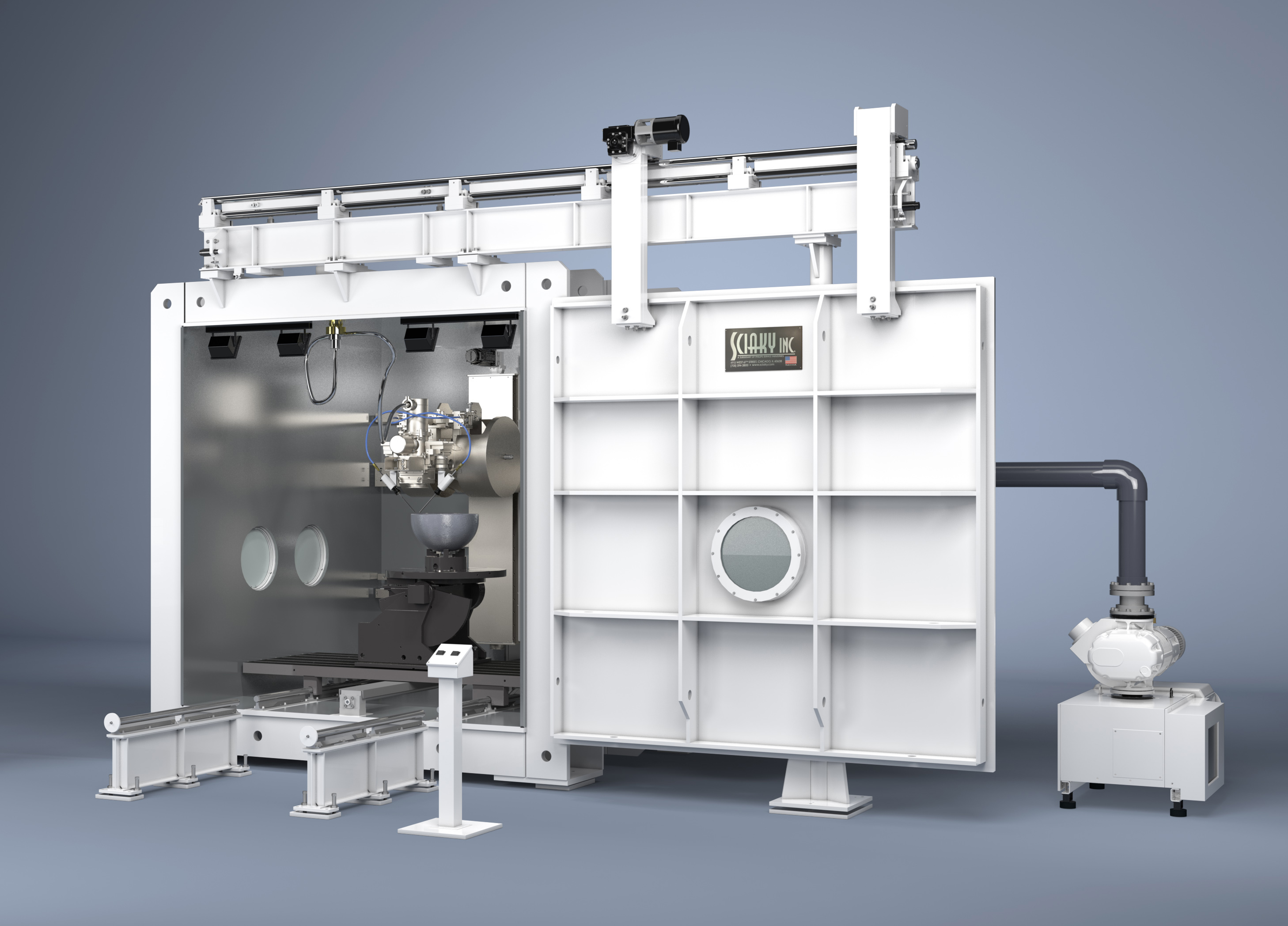 EBAM VX-110 forge-like additive manufacturing