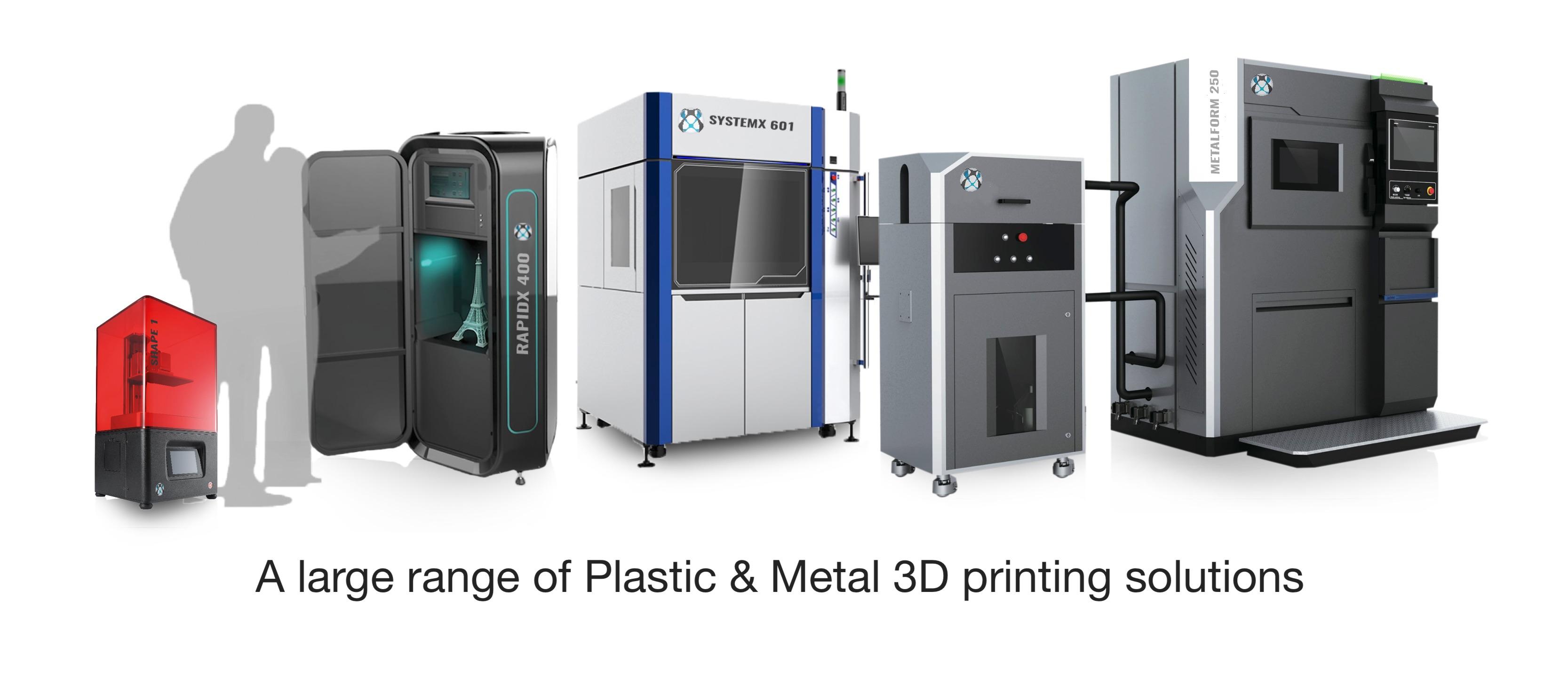 3D printers Plastic & Metal