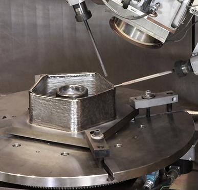 EBAM process Titanium