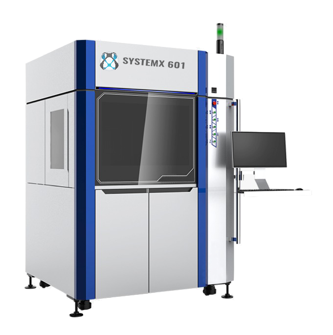 SLA 3D Printer SystemX-601, industrial solution to 3D print parts with DSM Somos resins