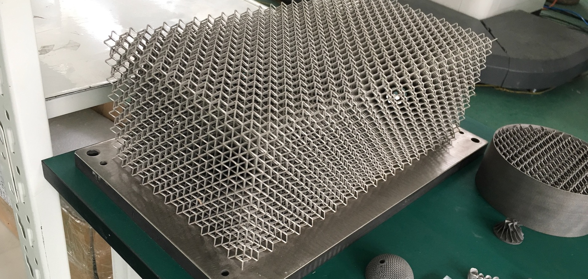 Metal 3D Printing to produce lighter parts