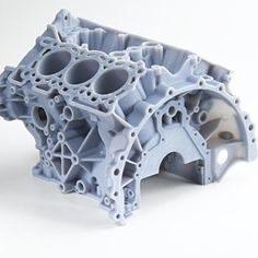 Proto moteur imprimé en SLA 3D sur imprimante 3D SystemX