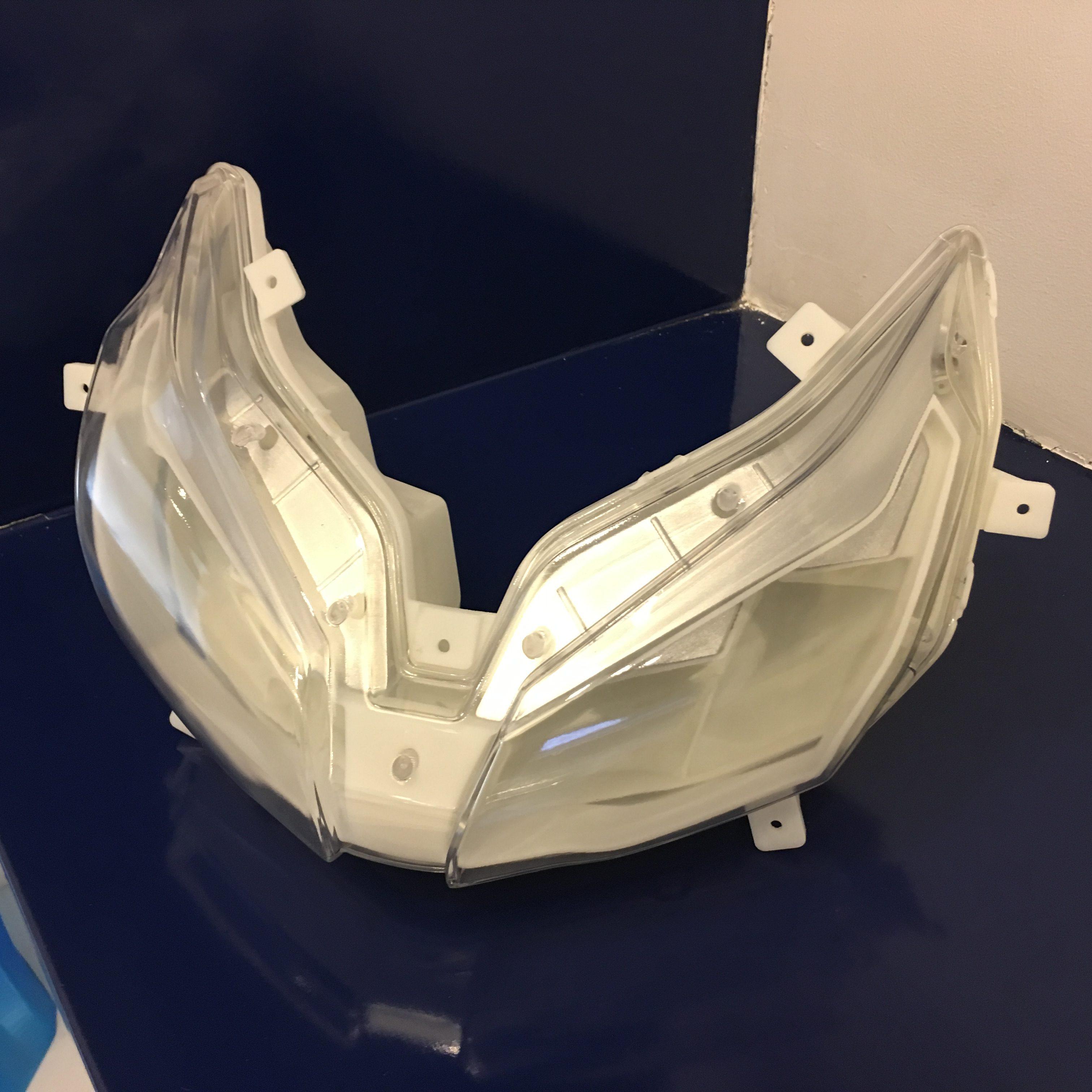 Pièce transparente imprimée en SLA 3D sur imprimante 3D SystemX