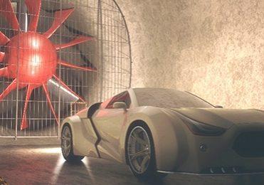 Somos® PerFORM Reflect for PIV aerodynamics testing