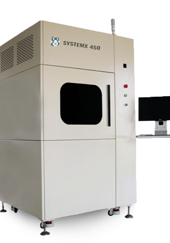 SLA 3D Printer SystemX 450, to 3D print parts with DSM Somos resins