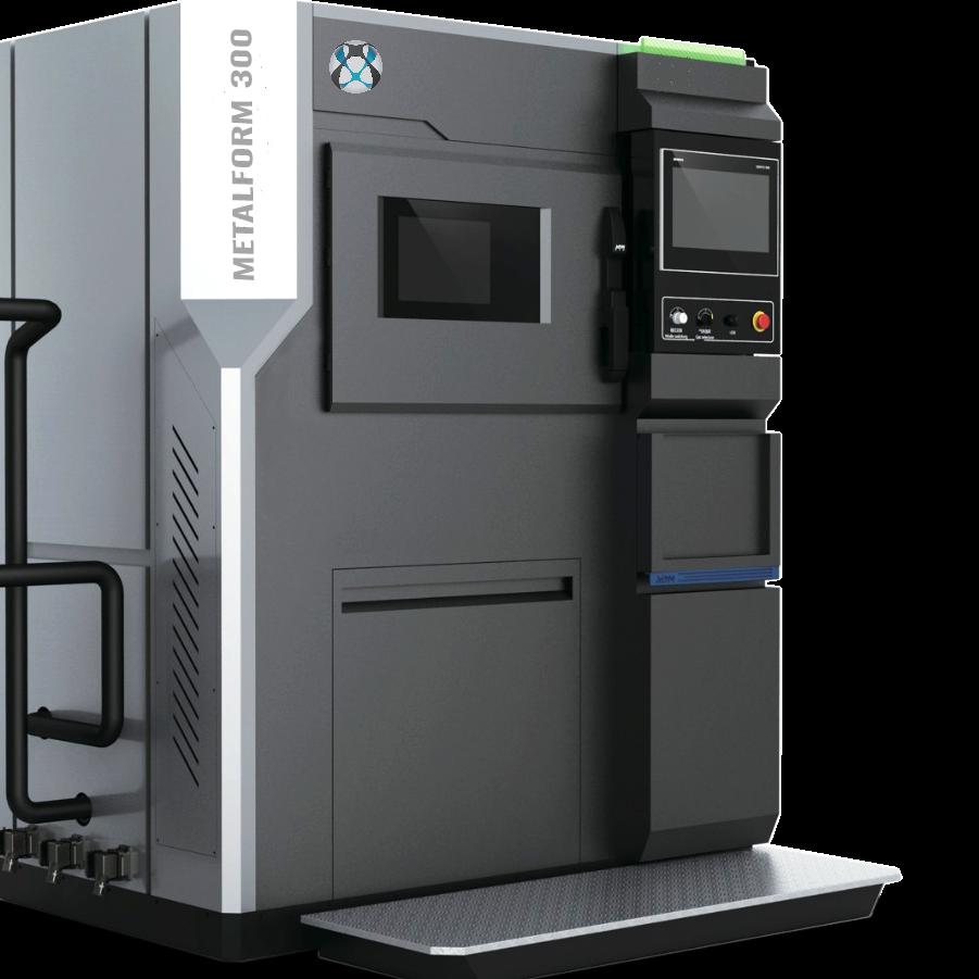 Industrial Metal 3D printer Metalform, to 3D print complex parts in AL, SS, Ti, Inc, etc